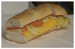 Alpine Food Shop Turkey Sub Sandwich