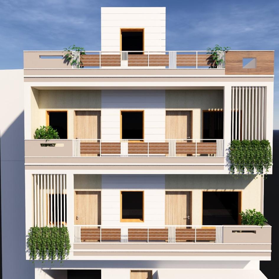 Residence at Badarka, Azamgarh
