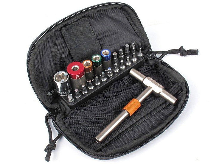 Fix It Sticks-65, 45, 25 & 15 INCH LBS KIT WITH DELUXE CASE, T-HANDLE, AND EXTEN