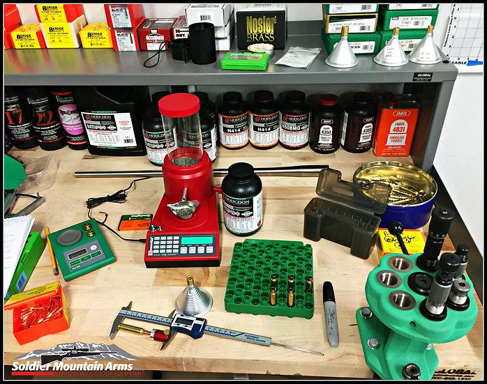 Accuracy services and custom ammunition