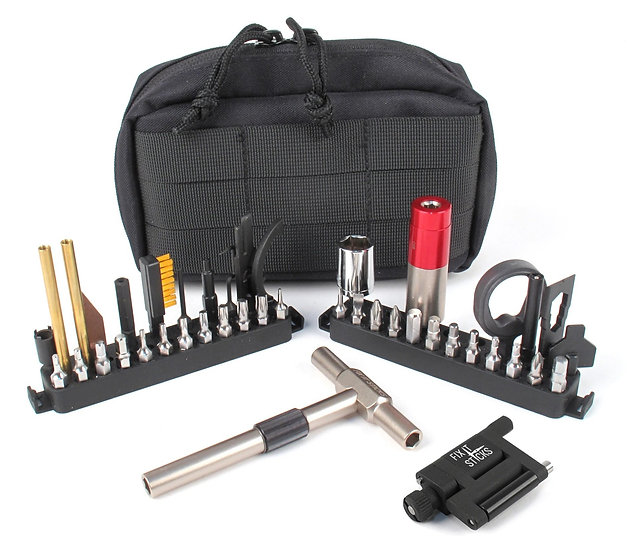 Fix It Sticks-THE WORKS W/ ALL-IN-ONE TORQUE DRIVER AND SCOPE JACK COMBO KIT