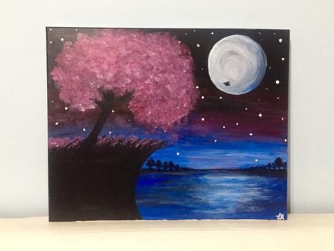 The Night by Tahmina R.
