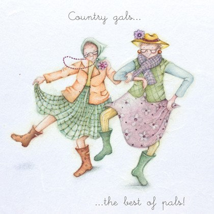 Country Gals Card