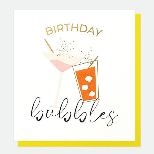 Birthday Bubbles Everyday Card