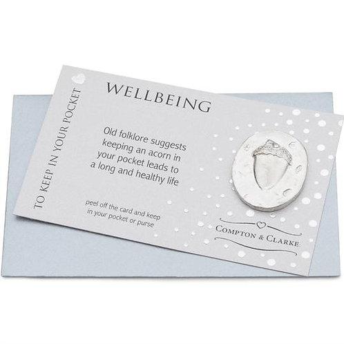 Wellbeing Acorn Pocket Charm