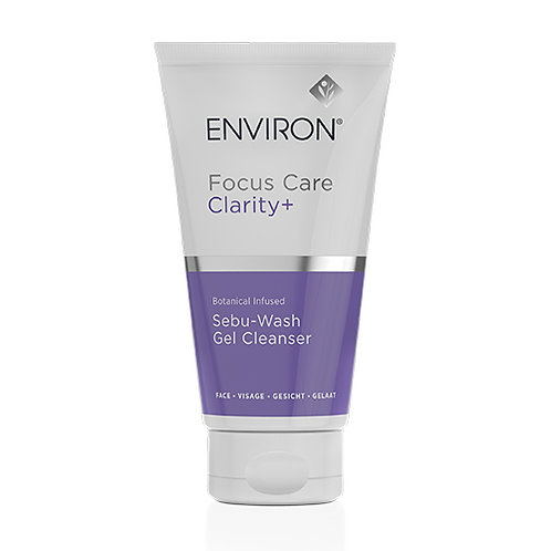 Focus Care Clarity+ Botanical Infused Sebu-Wash Gel Cleanser