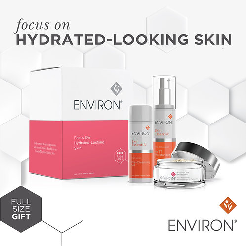 FOCUS ON HYDRATED LOOKING SKIN - Includes FREE product worth £23