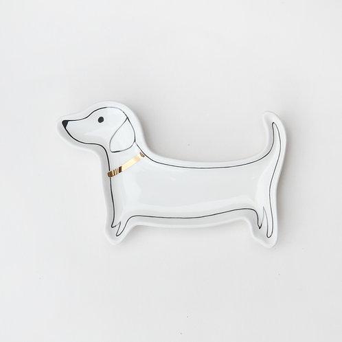 Trinket Tray Sausage Dog Dachshund