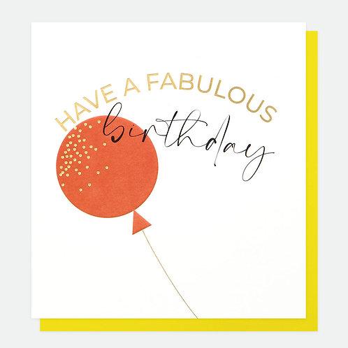 Fabulous Birthday Everyday Card