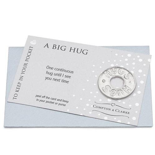 A Big Hug Pocket Charm