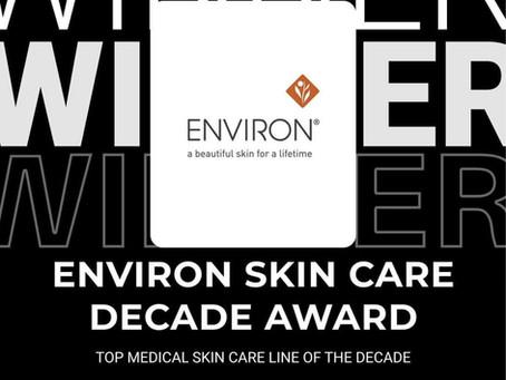 ENVIRON - Decade Award for Top Medical Skin Care