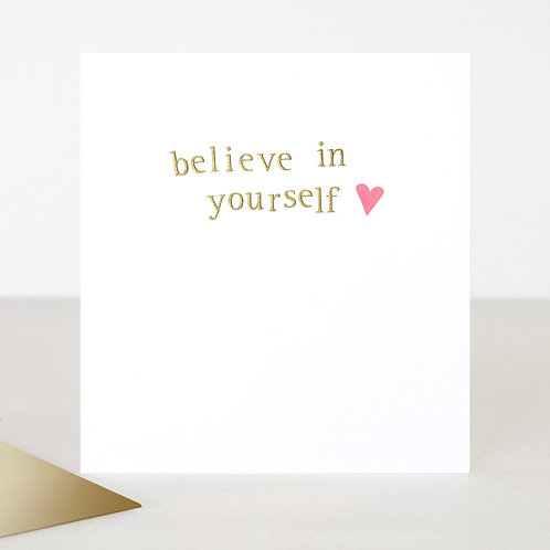 Believe in Yourself Cards