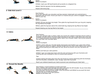 Pilates exercises for the Easter break