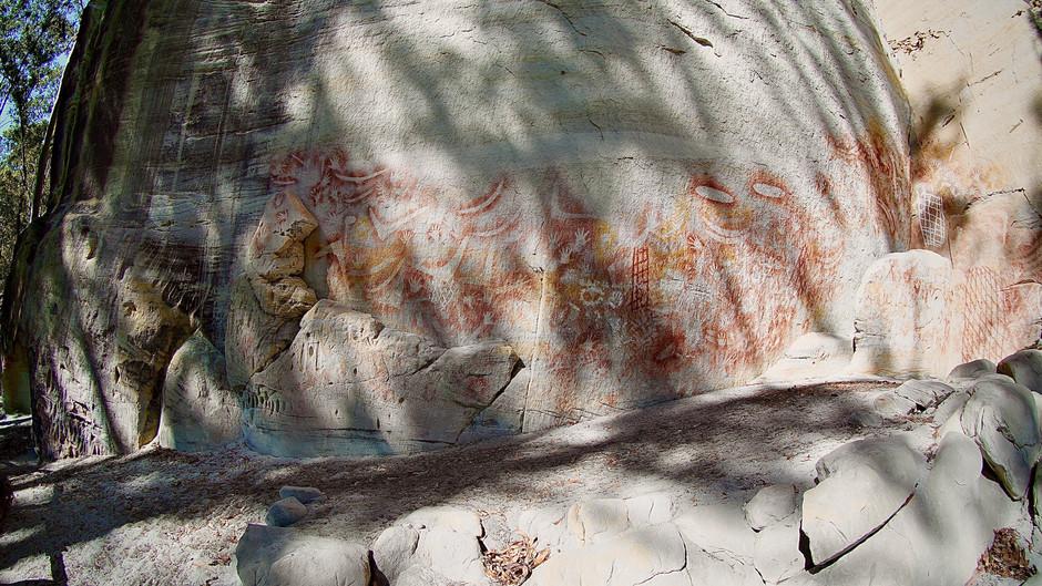 The Carnarvon Gorge National Park.