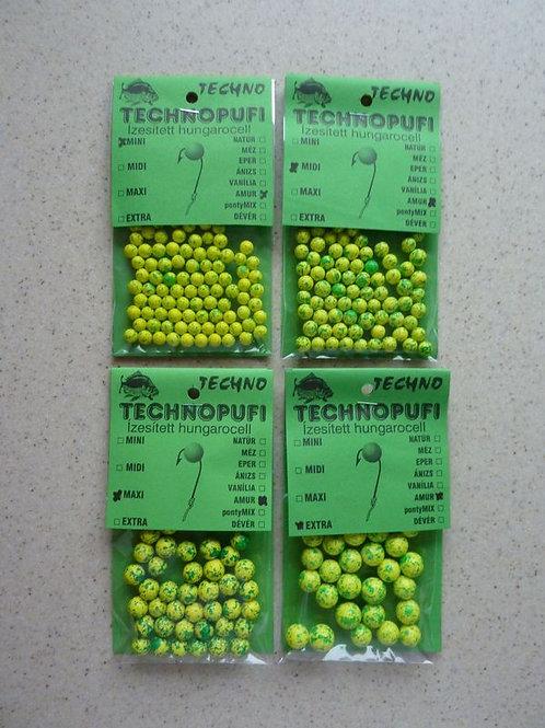 Technopufi Schaum Kugel ca 3-5 mm Grasskarpfen