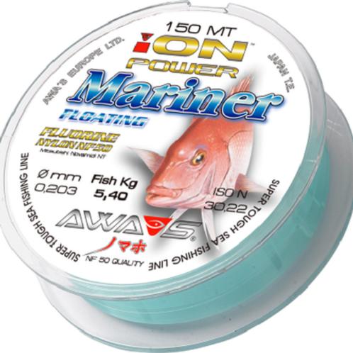 Angel monofil schnur Nylon AWA SHIMA ION POWER MARINER FLOATING 150 m 0,30 mm
