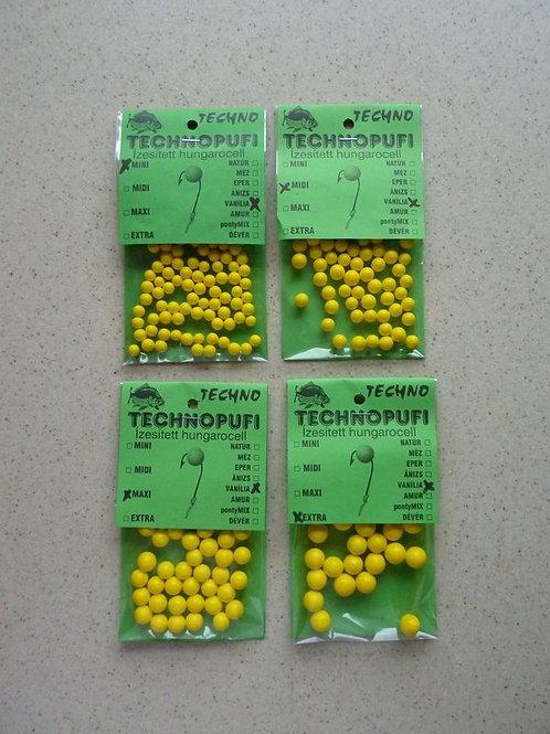 Technopufi Schaum Kugel ca 3-5 mm Vanille