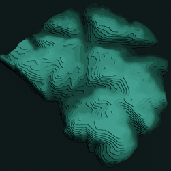 Day 17 - Isle of Rum Contours.png