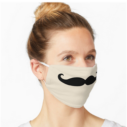Day 10 - Moustache Face Mask