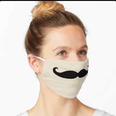 Day 10 - Moustache Face Mask