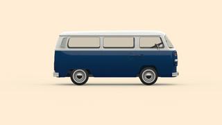 Van Blank Blue