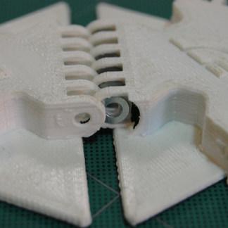hinge designs close up