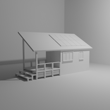 Day 14 - Remote Cabin House Initial Mode