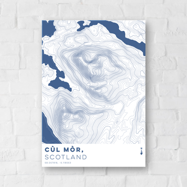 Day 11 - Contour Poster