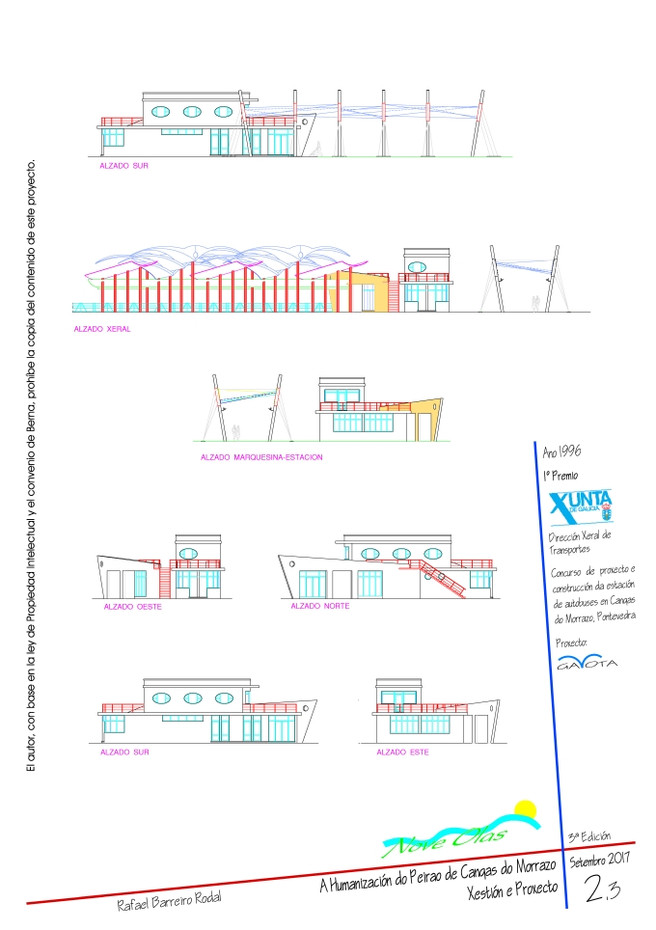 Láminas Estación de Autobuses