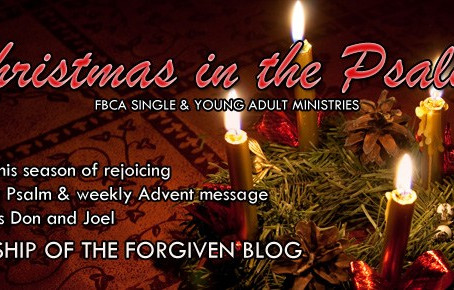 Day 1 – Christmas in the Psalms