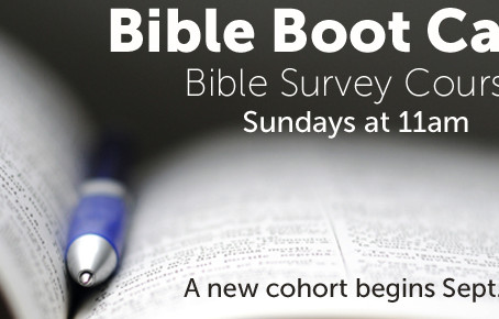 Bible Boot Camp at FBCA!