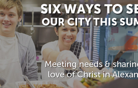 Six Ways to Serve Our City this Summer