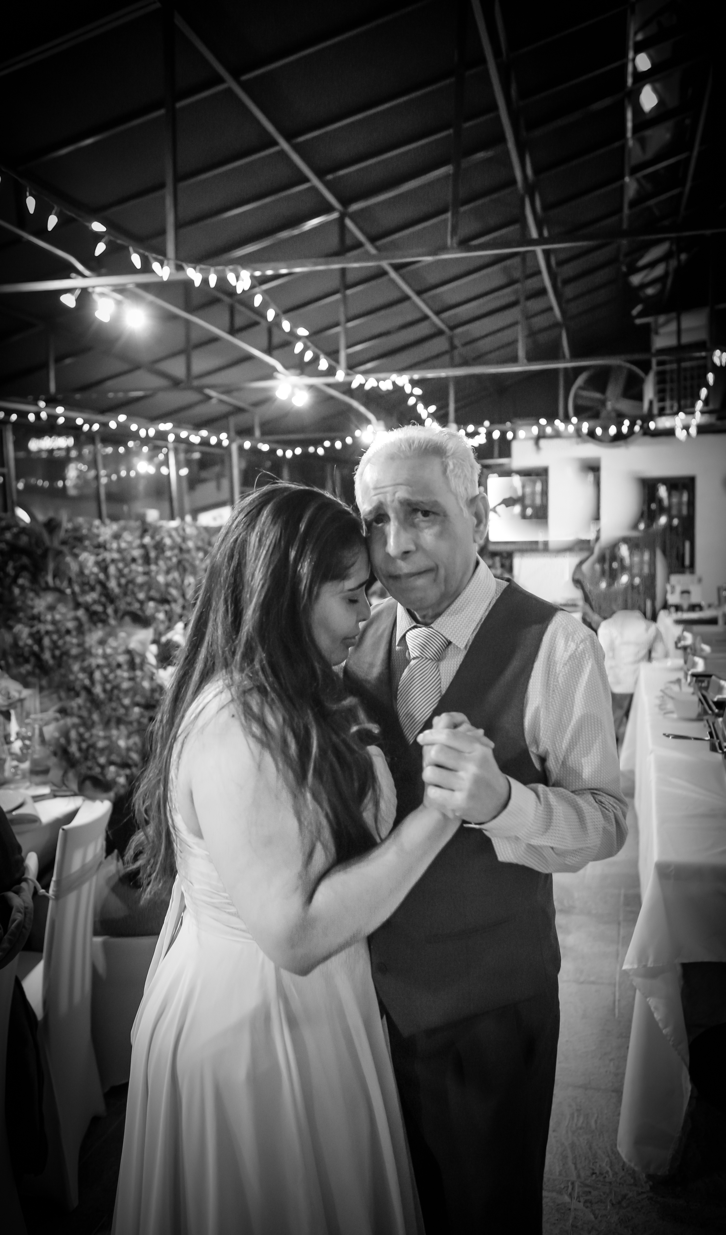 father and daughter dance