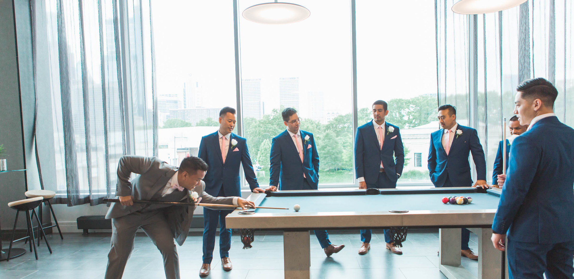 groomsmen party