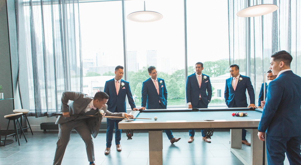 groomsmen party