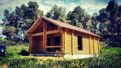 Ξύλινη κατοικία στη Νέα Φώκαια Χαλκιδικής