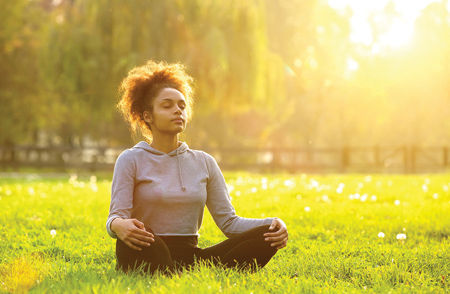 bigstock-African-American-Woman-Meditat-