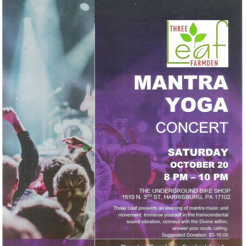 Mantra Yoga, Music and Movement.
