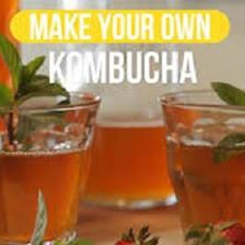 The Power of Probiotics and Kombucha Workshop