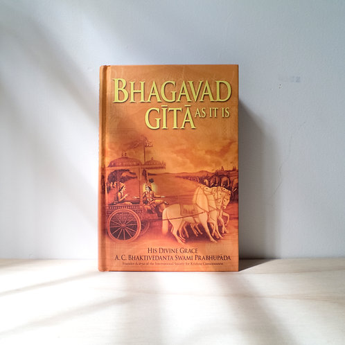 Bhagavad-Gita As It Is By A.C. Bhaktivedanta Swami