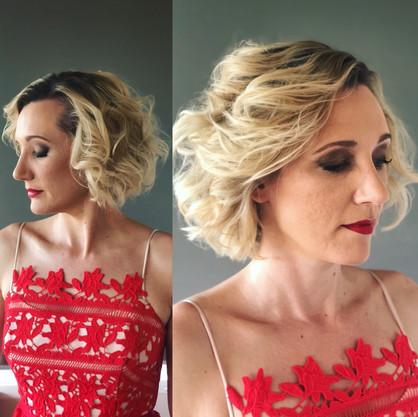 attending the Australian Hair Fashion Awards