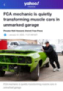 Dave Dudek Muscle Cars Yahoo!