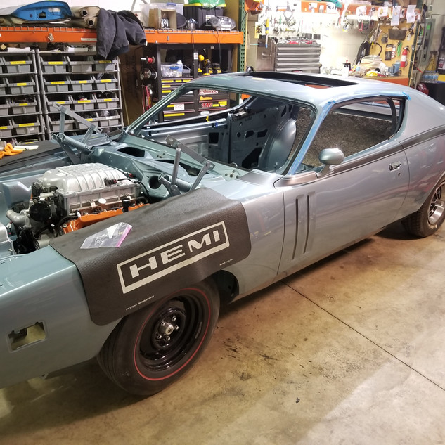1971 Dodge Charger R/T w Sunroof