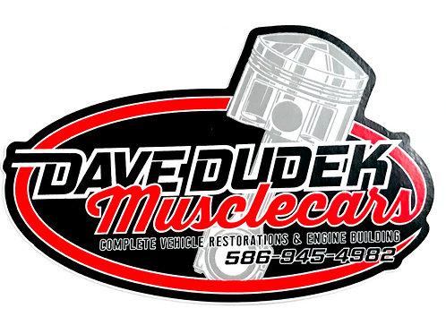 Dave Dudek Muslecars Decal