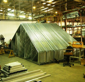Cold Rolled Formed Galvanized Roof Truss