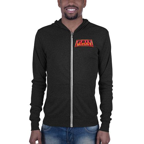 "Unisex CRIT ""Logo"" zip hoodie"