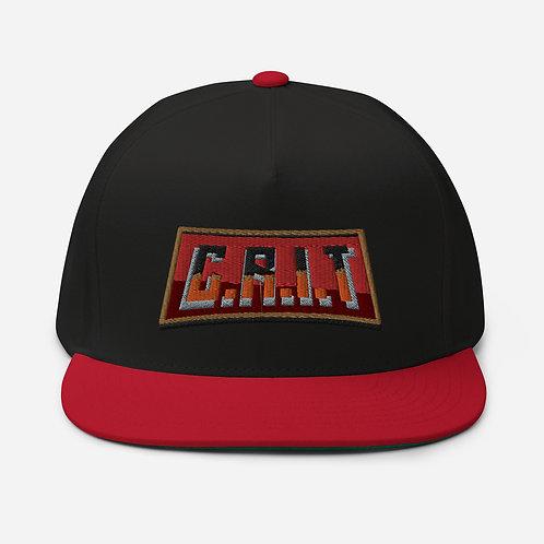 "Flat Bill CRIT ""Logo"" Cap"