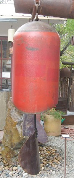 Red Rust Windchime