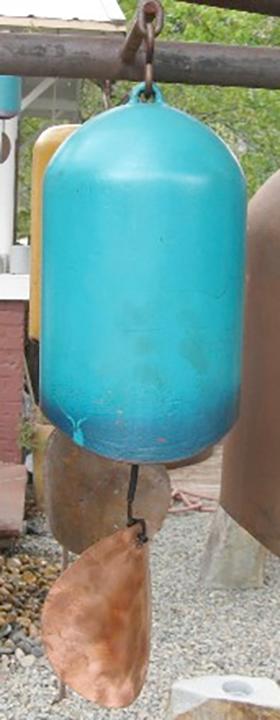 Turqouise & Blue Windchime