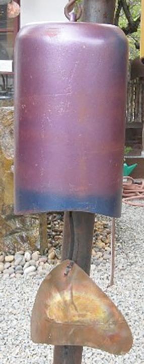 Purple & Blue Windchime